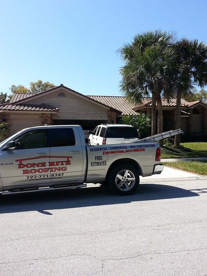 Roof Inspections By Done Rite Roofing Inc. Of Tampa Fl